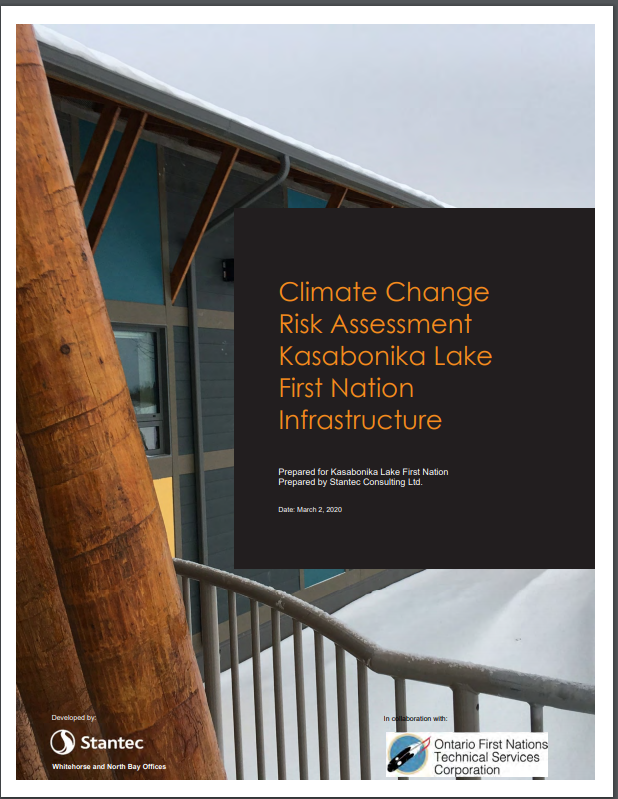 Climate Change Risk Assessment Kasabonika Lake First Nation Infrastructure