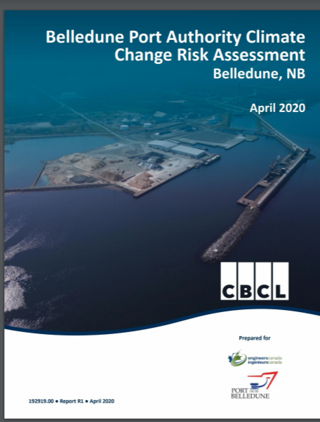 Belladune Port Authority Climate Change Risk Assessment Belladune, NB