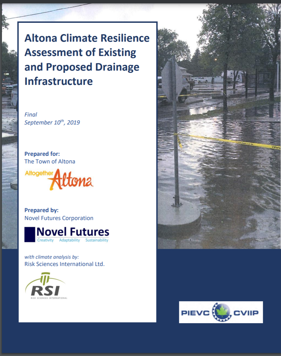 Altona Climate Resilience Assessment of Existing and Proposed Drainage Infrastructure