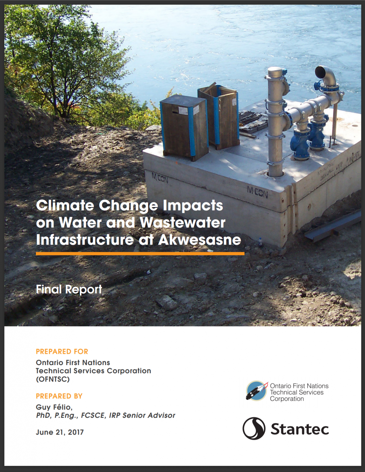 CLIMATE CHANGE IMPACTS ON WATER AND WASTEWATER INFRASTRUCTURE AT AKWESASNE