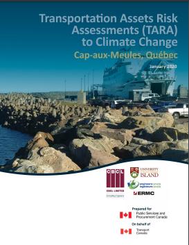 Transportation Assets Risk Assessments (TARA) to Climate Change – Cap-aux-Meules, Quebec